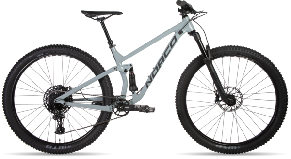Norco Fluid FS 1 Color: Concrete/Charcoal/Black
