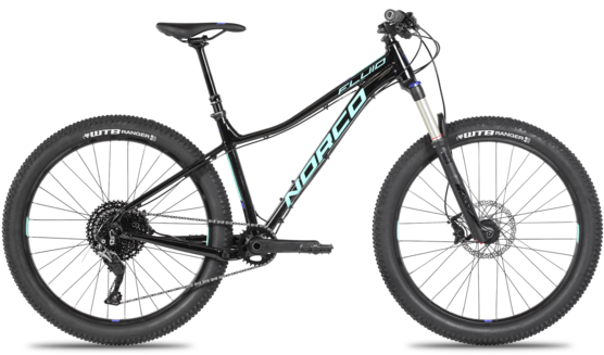 Norco Fluid 1 HT Women's Color: Black/Teal/Purple
