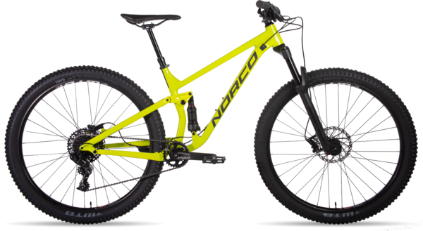 Norco Fluid FS 2 Color: Citron/Charcoal/Black