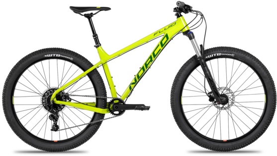Norco Fluid 2 HT Color: Citron/Green/Black
