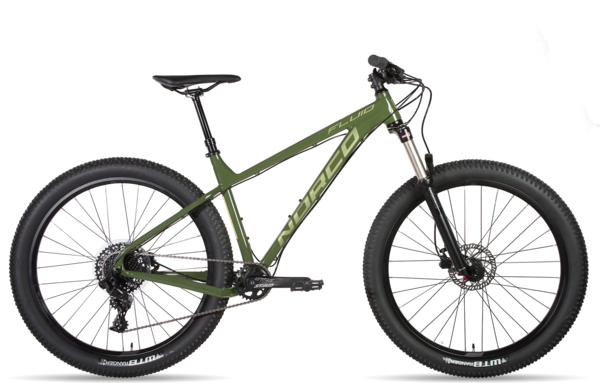 Norco Fluid HT 2 Color: Green/Sage/Sand