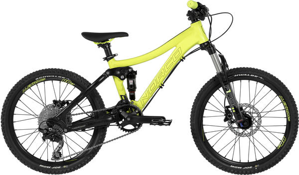 Norco Fluid 2.2 Color: Yellow/Black