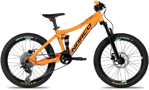 Norco Fluid 2.2 Color: Orange/Blue