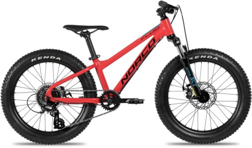 Norco Fluid 2.3 HT+ Color: Red