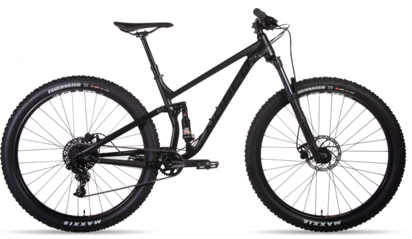 Norco Fluid FS 3 Color: Black/Gloss/Black