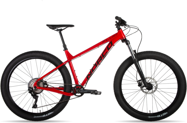 Norco Fluid HT 3 Color: Red/Black/Charcoal