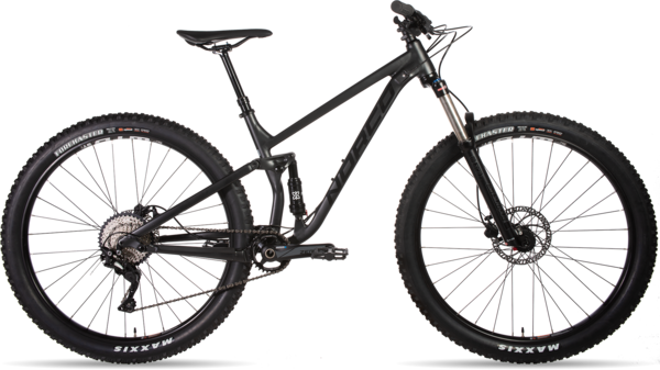 Norco Fluid FS 4 Color: Charcoal/Black/Concrete