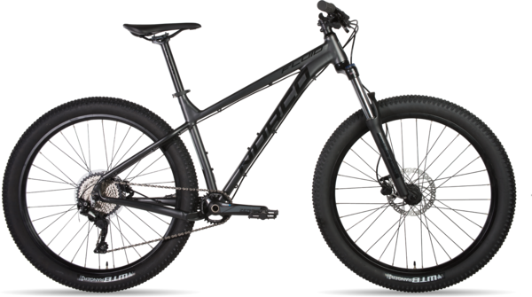 Norco Fluid HT 4 Color: Charcoal/Black/Concrete