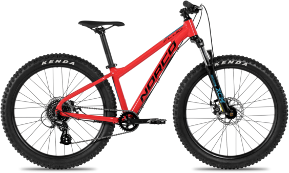 Norco Fluid 4.3 HT+ Color: Red