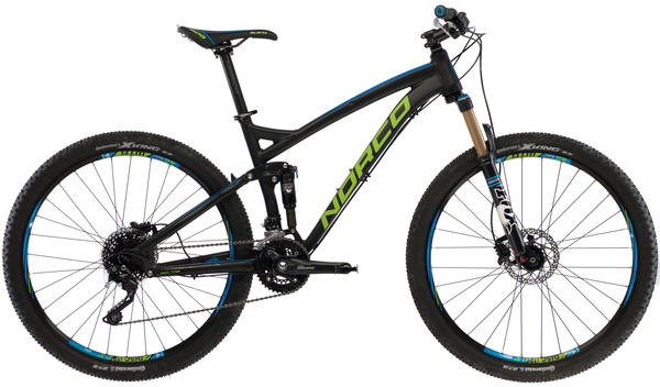 Norco Fluid 7.1 Color: Black/Green/Blue