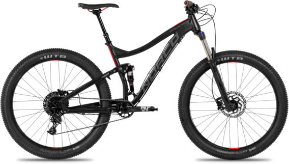 Norco Fluid 7.1 FS+ Color: Black/Red