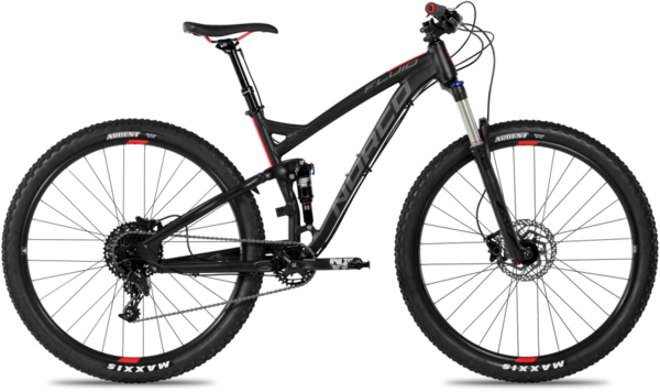 Norco Fluid 9.1 FS Color: Black/Red