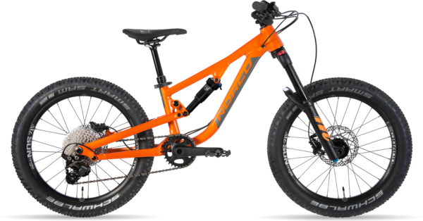 Norco Fluid FS 1 20 Color: Valencia Orange/Charcoal