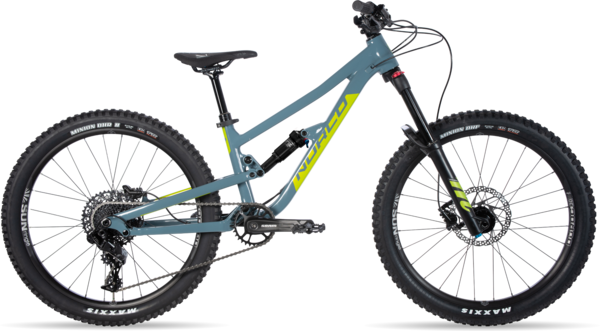 Norco Fluid FS 1 24 Color: Blue/Green