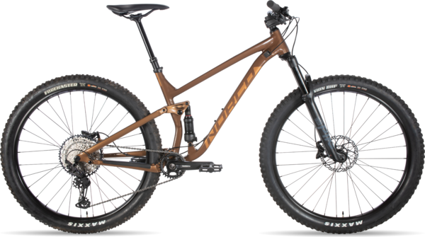 Norco Fluid FS 1 Color: Brown/Copper