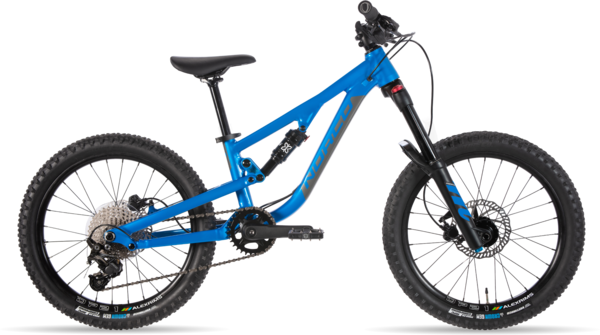 Norco Fluid FS 2 20 Color: Electric Blue/Charcoal