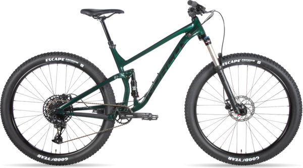 Norco Fluid FS 3 Color: Green/Black