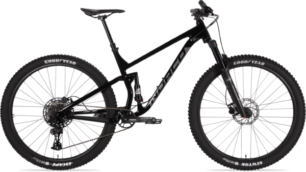 Norco Fluid FS 3 Color: Black/Charcoal