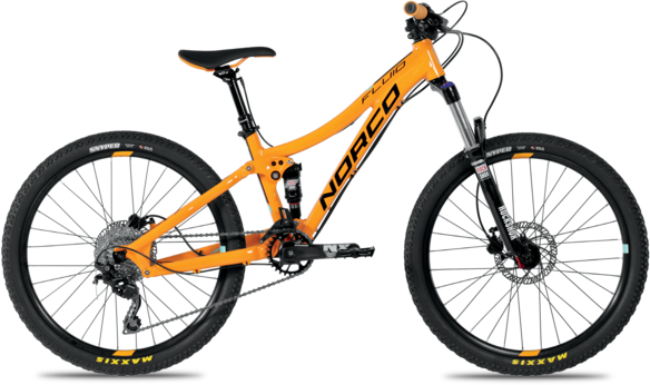 Norco Fluid 24 FS Color: Orange/Blue