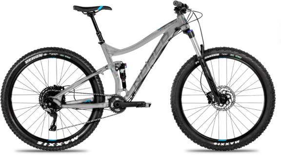Norco Fluid FS2+ Color: Silver/Black/Teal