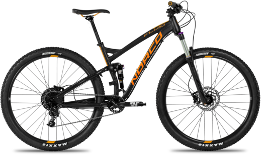Norco Fluid FS3 Color: Black/Orange