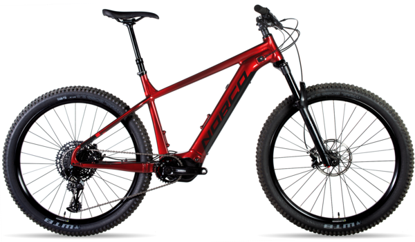 Norco Fluid VLT 1 Color: Red/Black
