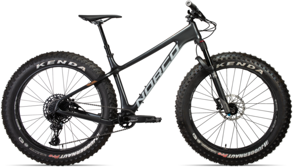 Norco Ithaqua 2 Suspension Color: Charcoal/Copper/Concrete