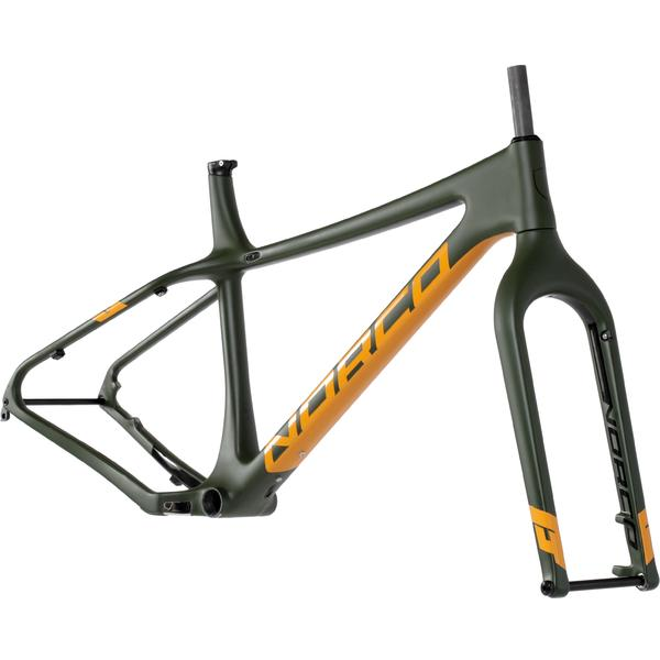 Norco Ithaqua 6.1 Rigid Frame Color: Green/Orange/Black