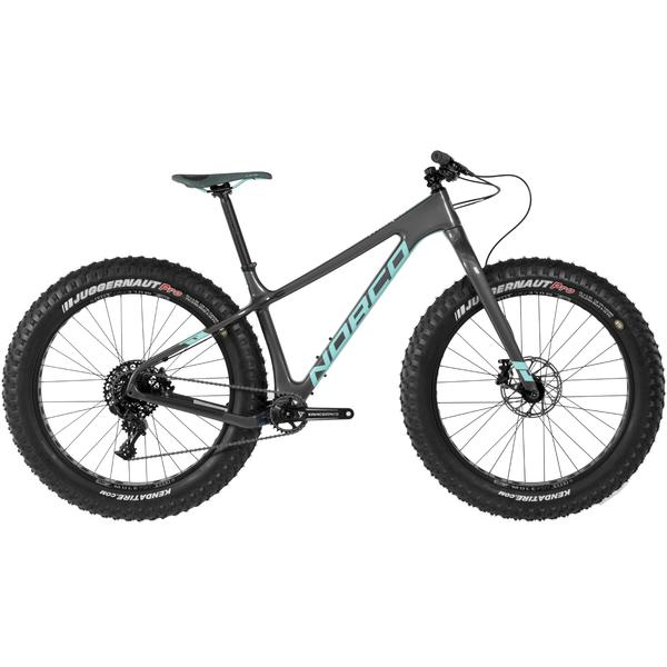 Norco Ithaqua 6.2 Rigid Color: Charcoal/Teal/White
