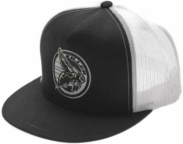 Norco Killer B Trucker Hat Color: Black/White