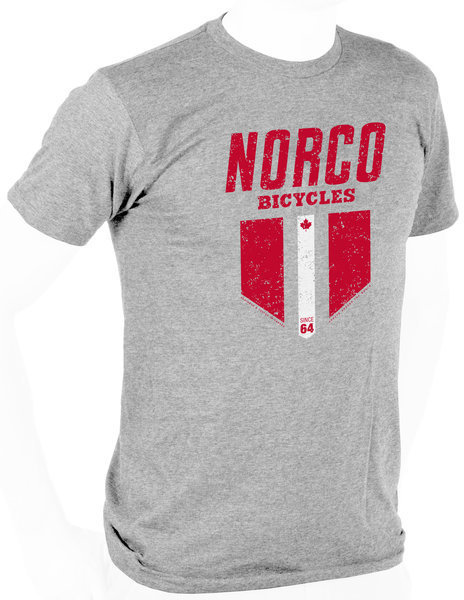 Norco Men's Retro Race Tee Color: Grey Heather