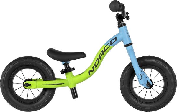 Norco Ninja 10 Run Color: Lime Green/Cyan/Black
