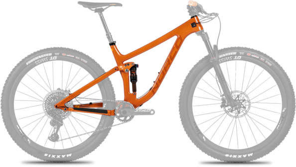 Norco Optic C Framekit Color: Orange