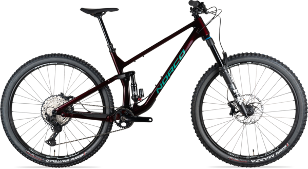 Norco Optic C2 Shimano Color: Red/Green