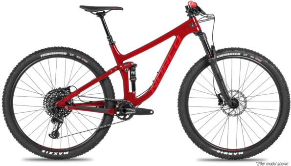 Norco Optic C3 Color: Red/Red