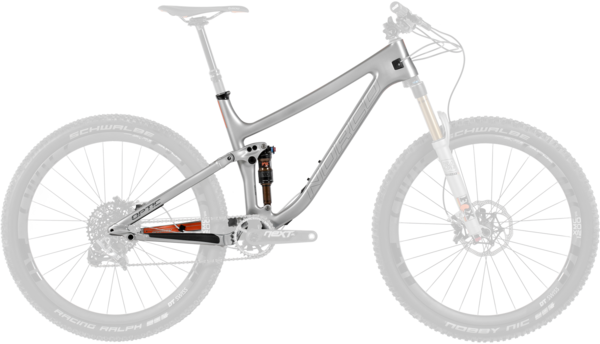 Norco Optic C7.1 Frame Color: Silver Orange
