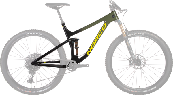 Norco Optic Carbon Framekit Color: Green