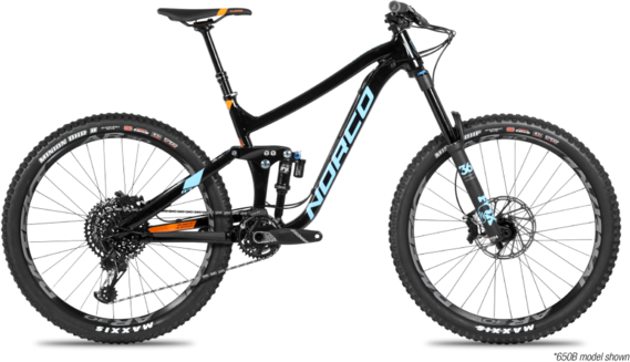 Norco Range A1 Color: Blue/Black/Orange