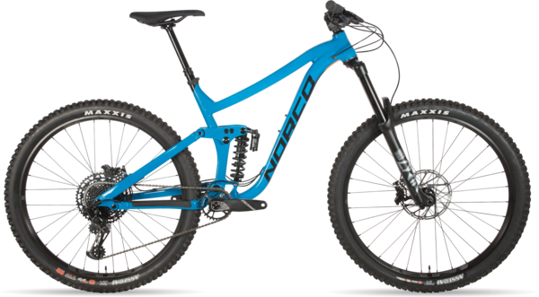 Norco Range A1 Color: Cavalry Blue
