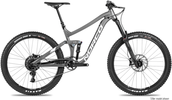 Norco Range A2 Color: Black/Charcoal/Silver