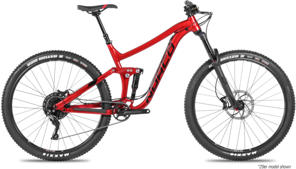 Norco Range A3 Color: Black/Red