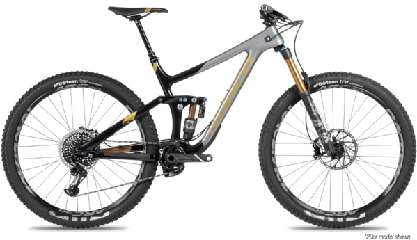 Norco Range C1 Color: Black/Charcoal/Gold