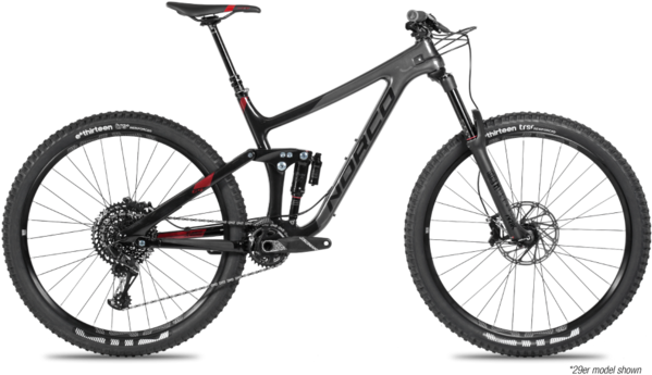 Norco Range C2 Color: Black/Red/Grey