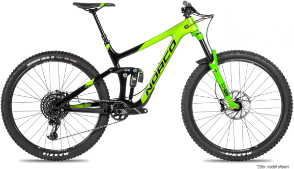 Norco Range C3 Color: Black/Green