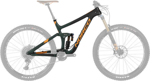 Norco Range C9.1 Frame Color: Dark Green/Black/Orange