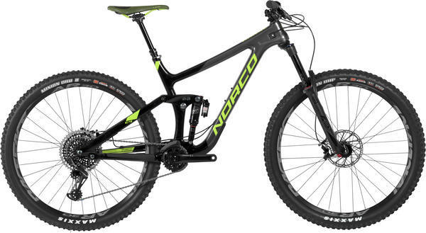 Norco Range C9.2 Color: Charcoal/Black/Green
