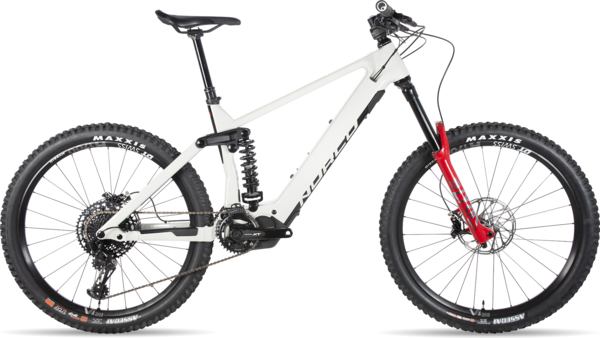 Norco Range VLT C1 Color: Eggshell White/Rockshox Red