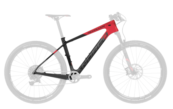 Norco Revolver 7 SL Framekit Color: Red/Black