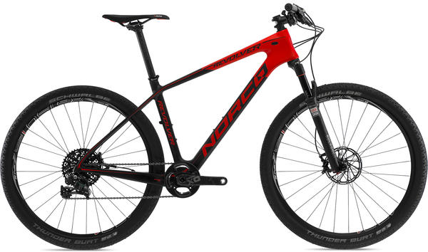 Norco Revolver 7 SL X01 Color: Red/Black