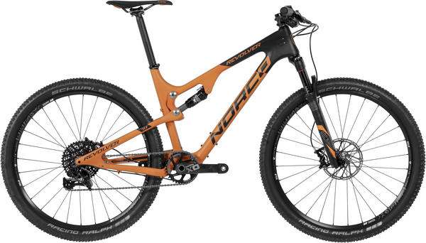 Norco Revolver 7.1 FS Color: Orange/Black